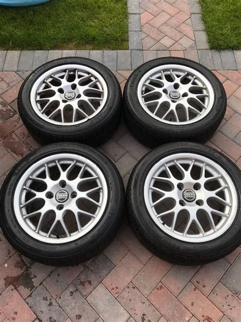 Rims For Volvo S40 by Volvo V40 S40 T4 Bbs Alloy Wheels 205 50 16 Tyres In
