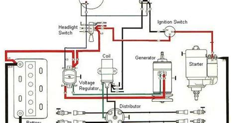 tractor ignition switch wiring diagram   simple