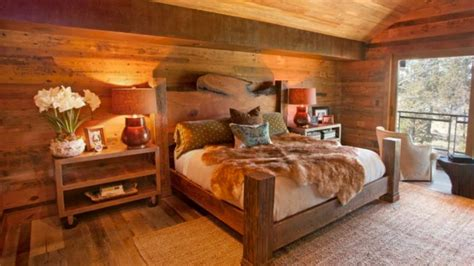 40 Rustic Bedroom Wood Design Ideas 2017  Amazing Bedroom