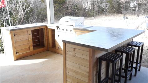 how to build a outdoor kitchen island 3 plans to make a simple outdoor kitchen interior 9298