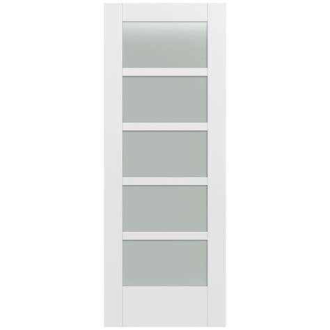 home depot glass interior doors jeld wen 32 in x 80 in moda primed pmt1055 solid