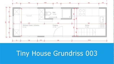 Tiny House Grundriss Mit Grosser Küche