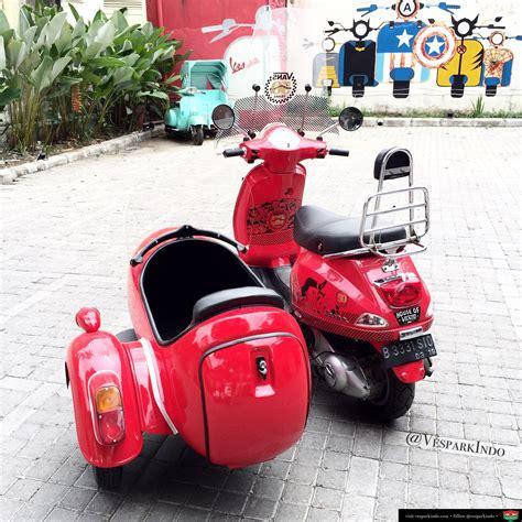 Gambar Vespa Sespan by Vespa Sidecar Vespa Medan Vespark