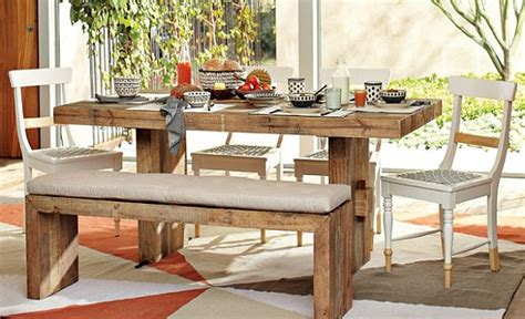 kitchen table with bench seating furniture vintage dining room rustic house design with