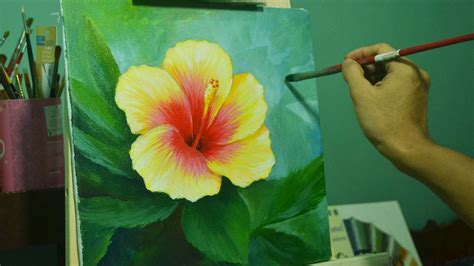 Gumamela Flower By Jmlisondra