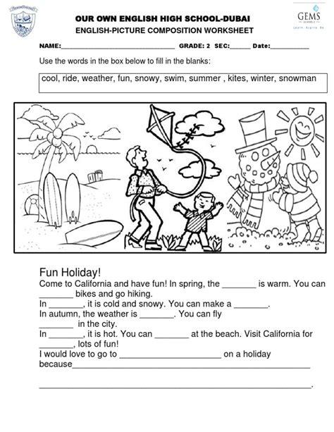 english picture composition pdf