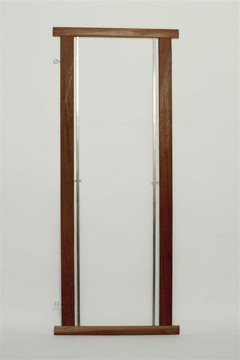cadre bois porte lisses avec tringles et crochets filature des landes catusse