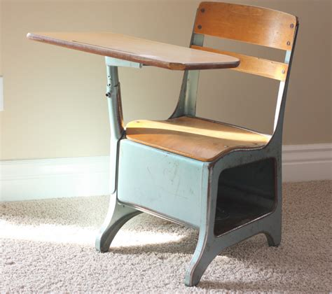 vintage school desk a trip memory honest to nod