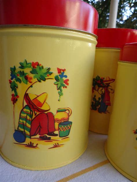 cool kitchen canisters 289 best images about cool kitchen canisters on pinterest strawberry kitchen vintage kitchen