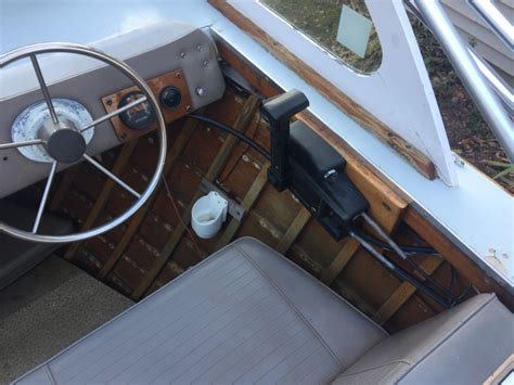 Ebay Motors Wood Boats by 1967 Thompson 21 Offshore Cer Wood Boat Runabouts