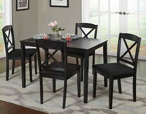 farmhouse dining table set small wooden black kitchen