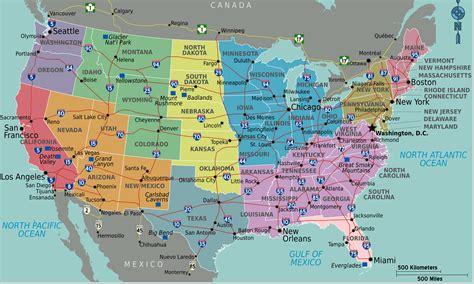 Carte Etats Unis Canada Avec Villes by Infos Sur Carte Etats Unis Villes Arts Et Voyages