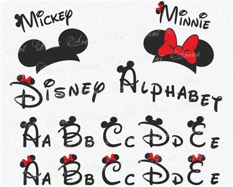 It is a free font. Disney Alphabet SVG Disney font svg Ears svg Minnie font ...