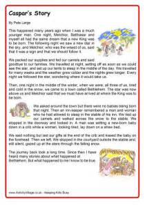 Printable Christmas Short Story