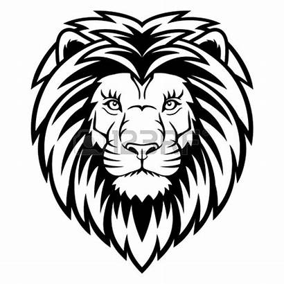 Lion Head Clipart Mascot Tattoo Drawing Graphic