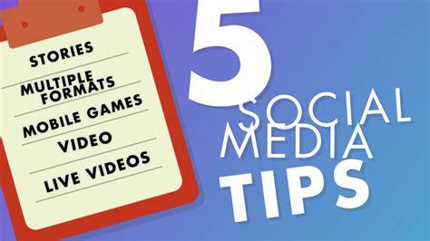marketing tips top social media marketing tips for 2017 social media
