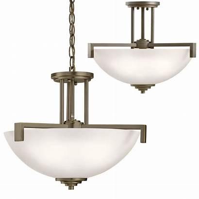 Ceiling Lighting Contemporary Kichler Fixture Drop Bronze