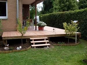 Terrassenbau holzsegen holzbau und montagen for Terrassen bau