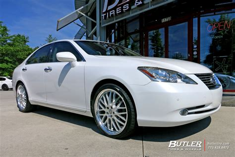 lexus es with 20in lumarai kya wheels exclusively from