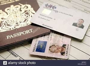 identity documents including passport driving license and With documents required for driving license