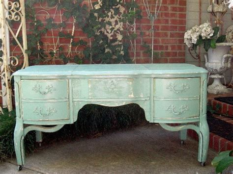 shabby chic tv table shabby fabulous aqua tv stand console entry table french chic furniture ebay