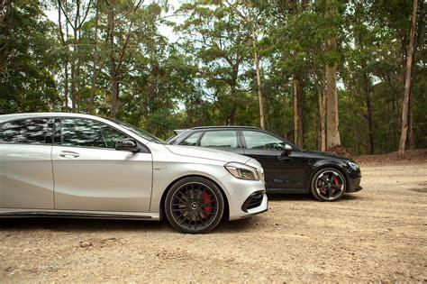 Audi Rs3 Vs Mercedesamg A45 Comparison Dynamic Test