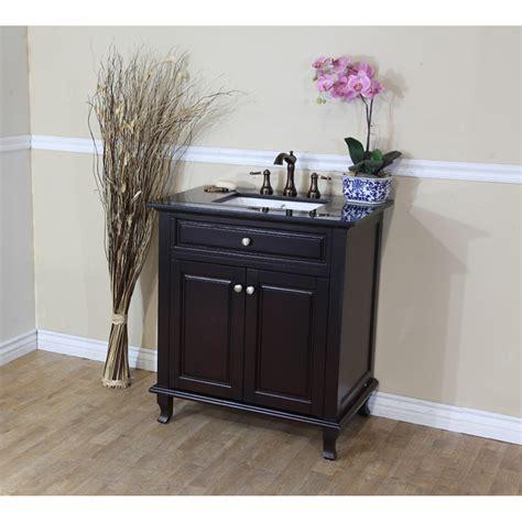 single sink bath vanity bellaterra home 603215 32dm bg single sink bathroom vanity
