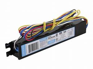 Philips Advance Electronic Ballast 120v To 277v For  3 Or 4  F32t8