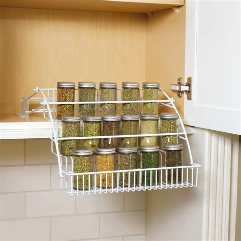 spice rack organizer for cabinet spice racks for kitchen cabinets photo 7 kitchen ideas