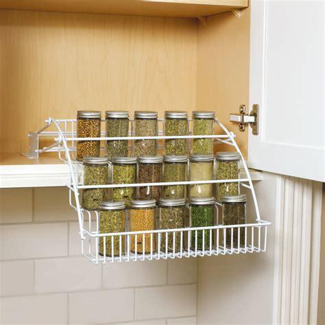 spice rack organizer for cabinet spice racks for kitchen cabinets photo 7 kitchen ideas