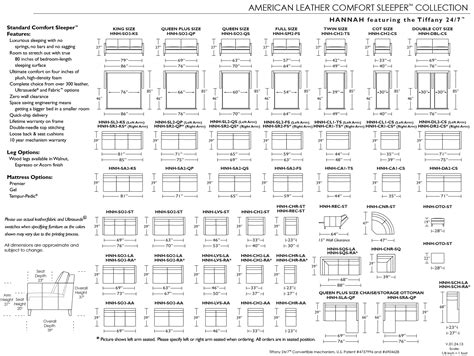 Sleeper Sofa Dimensions by Sleeper Sofa Sizes Size Sleeper Sofa