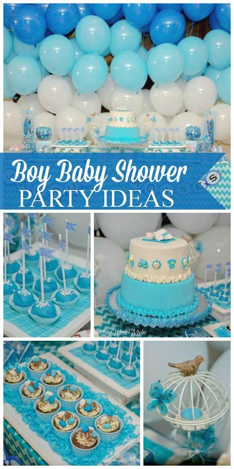blue baby shower blue chevron baptism quot baby jau quot boys chevron and baby boy