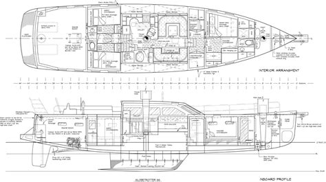 Boat Anchor Dwg by Globetrotter 66 General Arrangement Boat Design Net Gallery