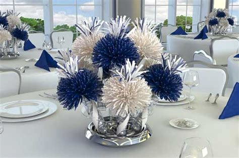blue and white table centerpieces centerpieces party centerpieces unique table centerpieces ideas