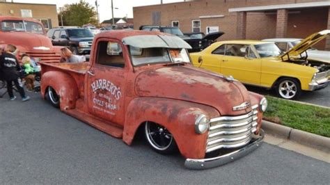 1950 chevrolet 3100 truck fully bagged with patina air