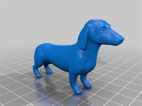 Ee  Dachshund Ee   By Yahoojapan Thingiverse