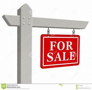 For sale real estate sign stock illustration. Illustration ...