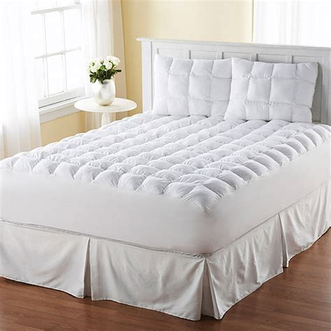bed toppers walmart magic loft mattress topper walmart