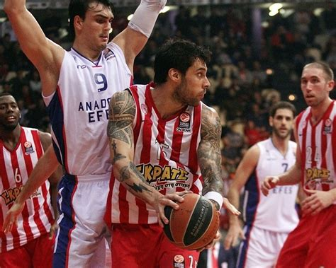 Euroleague Basketball Olympiakos Makes The Playoffs