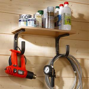 2, X, Large, Shelf, Supports, With, Tool, Hangers, -, Elfa