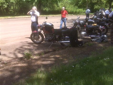Corvallis Vintage Motorcycle Show Ride