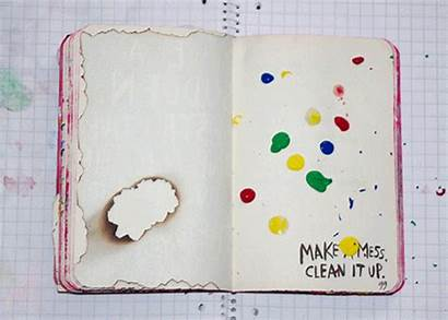 Journal Mess Wreck Pages Clean Keri Smith