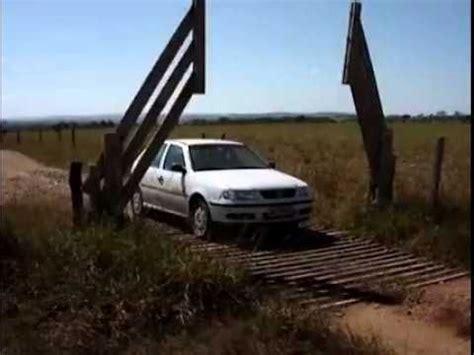 cattle guard grate  automatic gate farming farm