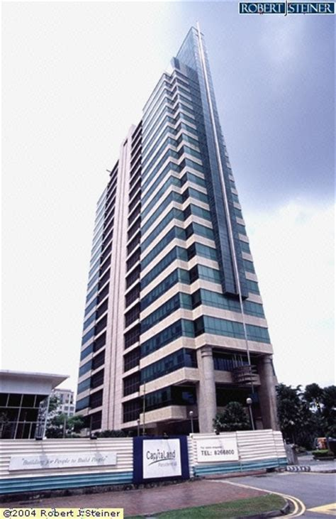 Left View Goldbell Towers Building Image Singapore