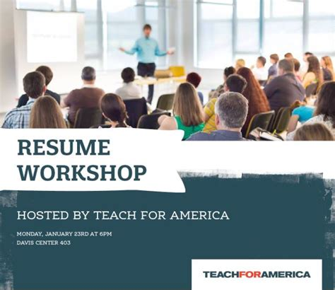 Teach For America On Your Resume by Teach For America Resume Writing Workshop Uvm Bored
