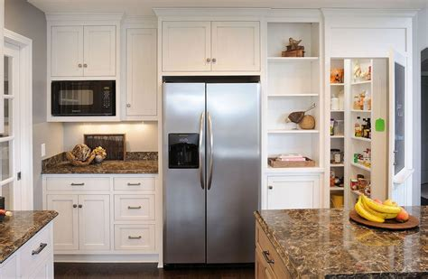 Kitchen Bar Island Ideas - built in vs freestanding refrigerators choose what 39 s best for you