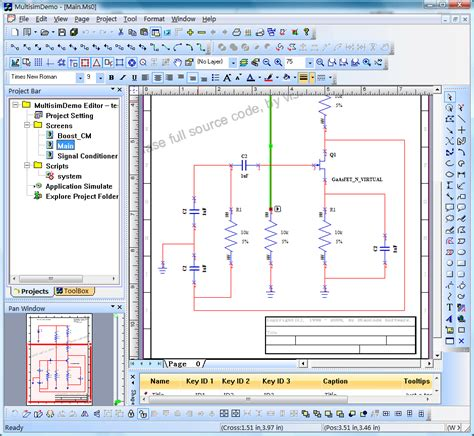 circuit design and interactive simulation animation and cicuit analysis circuit layout
