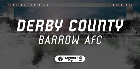Barrow Cup Clash Selected For Live Coverage By Sky Sports ...
