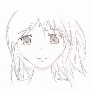 Anime face by CLOUDinWonderland on DeviantArt