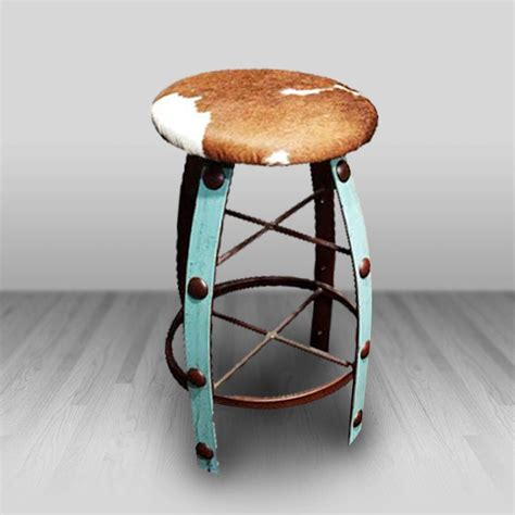 Cowhide Furniture Wholesale by Bowlegged Barstools Cowhide Western Furniture
